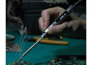 Ts100 40w Digital Oled Mini Soldering Iron Station Programmable With Xt60 Cable