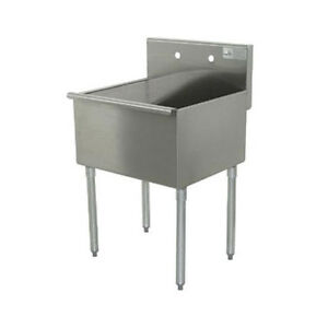 Advance Tabco 4 1 24 24 Stainless Steel Budget Sink