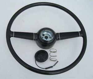 1940 Ford Deluxe 15 Steering Wheel W V8 Horn Button For Gm Steering Column