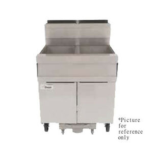 Frymaster Scfsm250g Gas Super Marathon Fryer W Multiple Battery 100 Lb Capacity