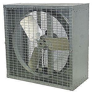 Dayton 24 dia Assembled Direct Drive Agricultural Exhaust Fan 1 2hp