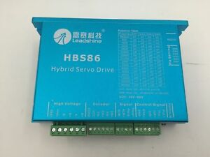 Leadshine Dsp Closed loop Stepper Driver 8a 20 50vdc Nema23 24 34 Motor Hbs86