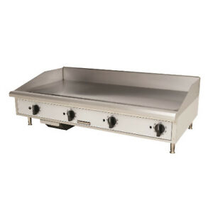 Toastmaster Tmgm48 Gas Countertop Griddle 48 W Manual Controls