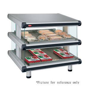 Hatco Gr2sds 30d Free standing Multi product Designer Slanted Display Warmer