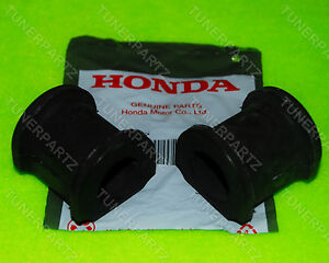 2 New Oem Honda Acura Front Sway Bar Rubber Bushing Stabilizer Civic 2dr 4dr Rsx