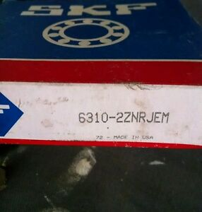 New Skf 6310 2znrjem Ball Bearing