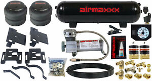 Tow Assist Air Bag Over Load Kit White Gauge Tank 2001 10 Chevy 2500 3500 Truck