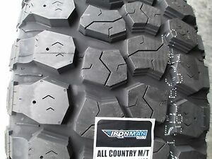 4 New 33x12 50r15 Ironman All Country Mt Tires 33125015 33 1250 15 12 50 Mud M T