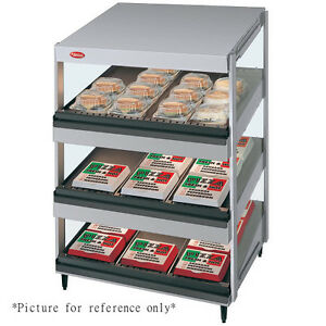 Hatco Grsds 24t Countertop Display Warmer With 3 Tiers And Slanted Shelves