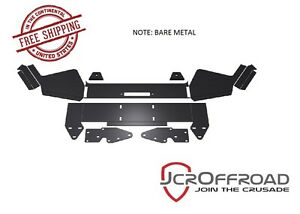 Jcr Offroad Diy Front Winch Bumper Bare Metal For 1984 2001 Jeep Cherokee Xj