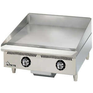 Star 824tchsa 24 Countertop Gas Griddle W Thermostatic Controls