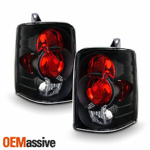 Fits 93 98 Grand Cherokee Sport Suv Black Tail Brake Lights Lamp Pair Left right
