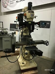 1998 Chevalier Falcon Fm 32sp Prototrak M3 3 Axis Control Knee Mill 7783954