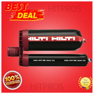 Hilti Hit re 500 330ml Injectable Mortar epoxy L k Fast Shipping
