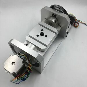 A Axis 4th Four Axis Dividing Head Ratio 8 1 For Cnc Router Engraving Lathe