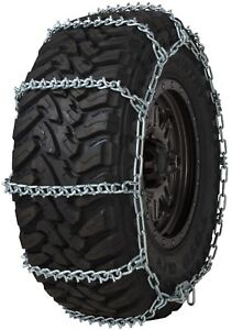 Quality Chain 3836 Wide Base Non cam 7mm V bar Link Tire Chains Snow Suv Truck