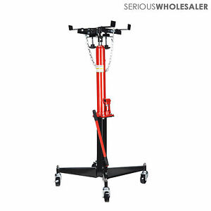 Hydraulic High Lift 0 5 T 1100lbs Hand Operated Transmission Jack 51 To 71