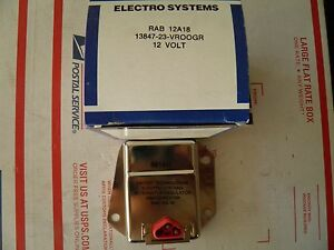 Rab12a18 United Tech Voltage Regulator 1970 79 Chrysler Dodge Plymouth 12 Volt