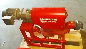 Penn Valley Pump Model 2ddmk5 230 460 Double Disc Water Slurry Sludge Pump