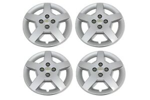 Oem New Wheel Hub Center Cap Cover 15 Silver Set 05 08 Chevrolet Cobalt 9595091