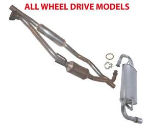 New All Wheel Drive Exhaust System For Toyota Matrix Pontiac Vibe 2003 2006