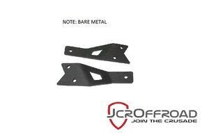 Jcr Offroad 50 Light Bar Mount For Roof Rack Bare Metal 84 01 Jeep Cherokee