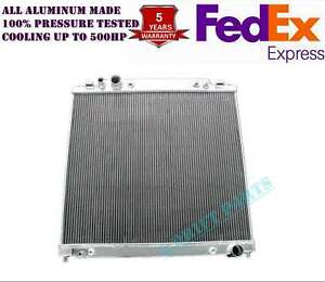 All Aluminum Radiator Fit 1999 2000 To 2003 Ford F 350 7 3l Powerstroke 2 Rows