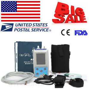 Contec Usa Fda Ambulatory Blood Pressure Monitor software 24h Nibp Holter Abpm50