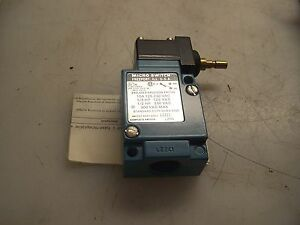 New Honeywell Micro Switch Precision Limit Switch Lzh1
