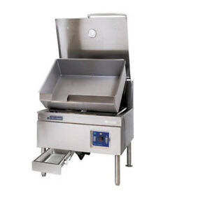 Cleveland Sem40tr 40 Gallon Electric Powerpan Tilting Skillet