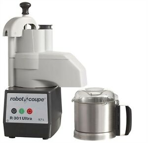 Robot Coupe R301 Ultra Combination Continuous Feed Food Processor W Ss Bowl