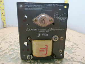 Lambda Los z 24 Regulated Power Supply 24vdc 0 9a 2 q 31