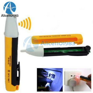Digital Led Ac Electric Power Voltage Tester Volt Pen Detector Sensor 90 1000v