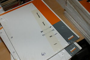 Case 360 Trencher Parts Manual Book Catalog Spare List Ditcher Tractor Ride On