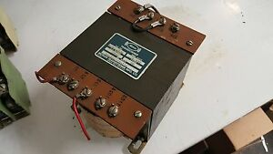 Meteor 1 0 Kva Control Transformer Mt88 2542 1 Ph 230 460 85 110 Used