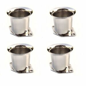 4 X New Velocity Stacks Air Horn Pipe Trumpet Slides For Weber 40 44 48 Idf