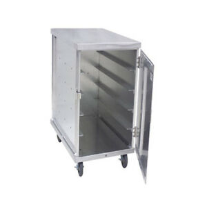 Cres Cor 101 1418 20 Mobile 20 Capacity Single Compartment Tray Delivery Cabinet