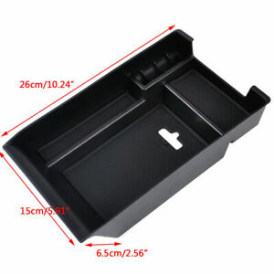 Center Console Armrest Storage Box Organizer Tray For Bmw X5 F15 X6 2014 2017
