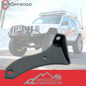 Jcr Offroad Driver Side Cb Antenna Mount Black Pc For 97 01 Jeep Cherokee Xj