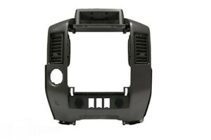 Nissan Armada Pathfinder Titan Dash Center Console Instrument Panel Lid Bezel Oe