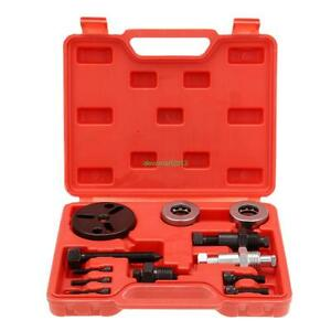 Automotive Ac Air Conditioning Car Compressor Clutch A C Puller Remover Tool Kit
