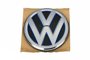 2014 2017 Vw Volkswagen Jetta Sedan Rear Trunk Lid Emblem Badge W blue Oem New