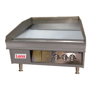 Lang 248sc 48 Gas Countertop Griddle