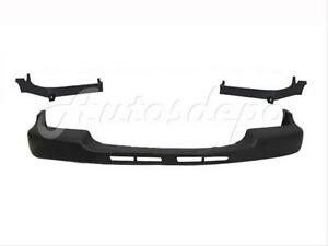 For 1999 2002 Silverado 2500hd 3500 Front Bumper Upper Cap Pad Trim Filler 3pcs