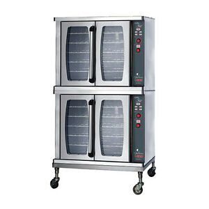 Lang Ecsf es2 Electric Chefseies 2 Deck Convection Oven