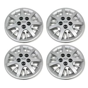 Oem New Wheel Hub Center Cap Cover 16 Silver Set Impala Monte Carlo 9592879