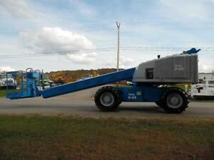 1993 Genie S 60 Telescopic Boom Aerial Manlift