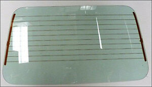Vw Rabbit Convertible And Cabriolet Rear Window Defroster Glass 1979 1994