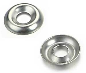 5000 1 4 Nickel Plated Countersunk cup Finishing Washers