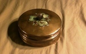 Chase Chrome And Glass Co Art Deco Powder Candy Container